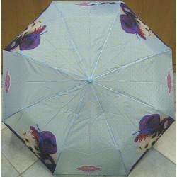 Skládací deštník Perletti 25830 sv.modrý/štěně