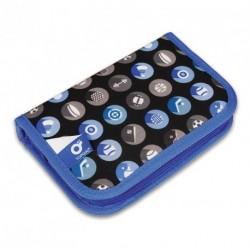 Školní pouzdro (penál) TOPGAL CHI 765 D Blue (modrá/sporty)