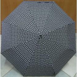Skládací dámský deštník Mini Max (EB) LF 199B5 černo-bílý