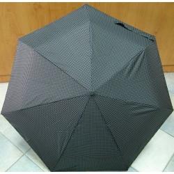Skládací pánský mini deštník Bargués 3055B černo-šedý