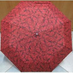 Skládací deštník Blue Drop A457DC červení motýli