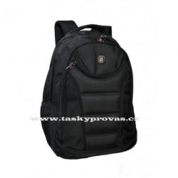 Batoh s kapsou na notebook Enrico Benetti 47084 černá