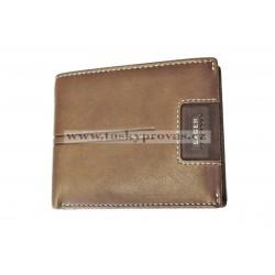 Pánská kožená peněženka Lagen LG-1134 hnědá
