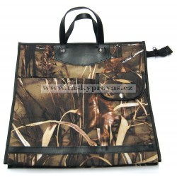 Nákupní taška KŠK vz.233 Příroda/hnědá, béžová