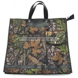 Nákupní taška KŠK vz.233 Příroda/hnědá,zelená