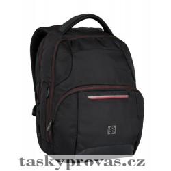 Školní batoh Bagmaster NEWTON 6 A BLACK/ RED ( černá/ červená)