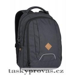 Studentský batoh Bagmaster VEKTOR 6 A GREY (šedý)