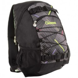 Chiemsee batoh Black Comp stripe check black 102671