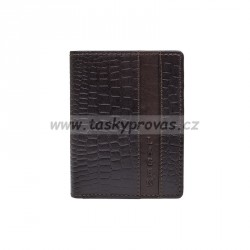 Pánská kožená peněženka Lagen 4019NC hnědá