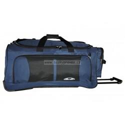 Cestovní taška na kolečkách ENRICO BENETTI 35305 modrá/černá
