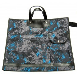 Nákupní taška KŠK vz.232 černá/šedá/modrá