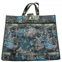Nákupní taška KŠK vz. 208 černá/šedá/modrá
