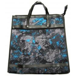 Nákupní taška KŠK vz.156 černá/šedá/modrá