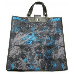 Nákupní taška KŠK vz.145 černá/šedá/modrá