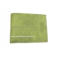 Kožená pánská peněženka Coveri 693252 zelená