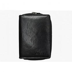 Kožené pouzdro na kreditní karty Lagen 5015/T černé