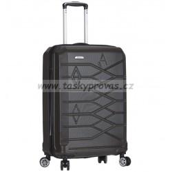 Cestovní kufr (kabinové zavazadlo) AEROLITE T-315/3-S ABS - charcoal (tm.šedá)