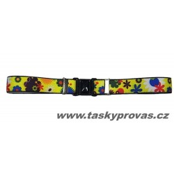 Dětský elastický opasek Xandy 11020 kytičky