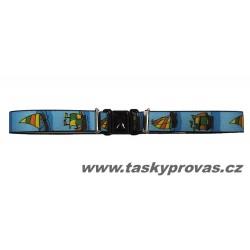 Dětský elastický opasek Xandy 11026 sv.plachetnice