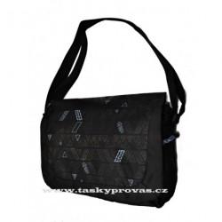 Sportovní taška Diviley WC13394 černá/modrá