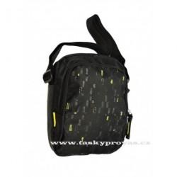 Sportovní taška Diviley WC16293 černá/žlutá