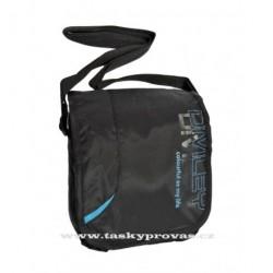 Sportovní taška Diviley WC16378 černá/modrá