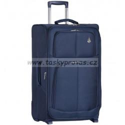 Cestovní kufr AEROLITE T-9613/3-M - tmavě modrá