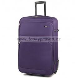 Cestovní kufr MEMBER'S TR-0135/4-60 - fialová