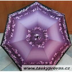 Deštník mini skládací Bargués 4004 fialový/ vzor
