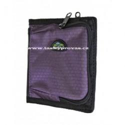 Peněženka sportovní Famito G-plus WP-0003 fialová