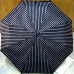 Deštník skládací Mini Max LF 199H2 modrý/ šedé pruhy