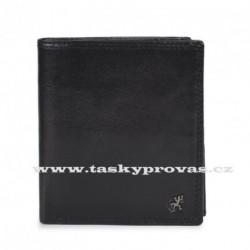 Pánská kožená luxusní peněženka Cosset 4506 Komodo černá