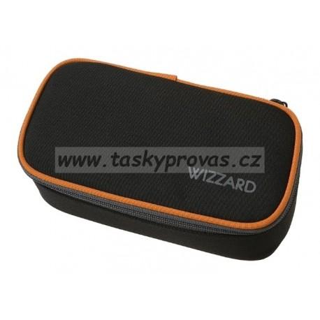 Penál Walker Wizzard black 49115-080 (černá, oranžová)
