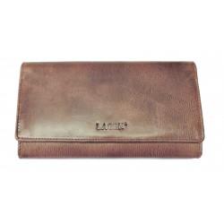 Dámská kožená luxusní peněženka Lagen 37371 bordo