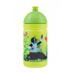 Zdravá lahev Nová generace 0,5 l Krteček s kalhotkami barva: zelená