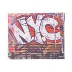 Pánská peněženka s barevným potiskem 9203-02