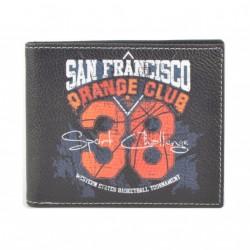 Pánská peněženka s barevným potiskem 9203-10
