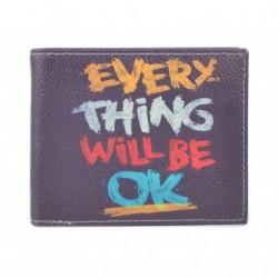 Pánská peněženka s barevným potiskem 9203-15