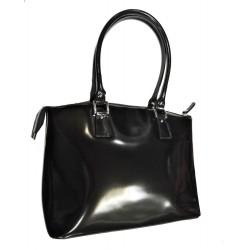 Kožená kabelka Rylko VZ-07 černá