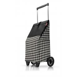 Nákupní taška na kolečkách Dup 230304-065 černá fifties