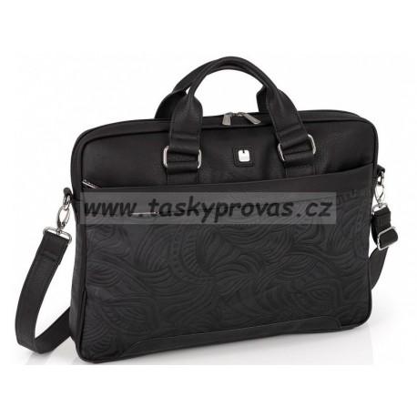 """Dámská taška na notebook 15.6"""" Gabol  MOGAMBO 528431 černá"""