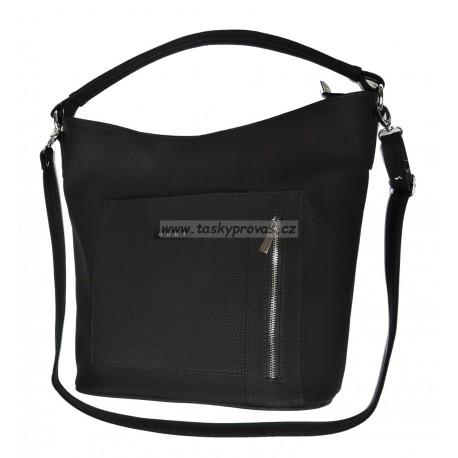 Elegantní kabelka Hurt B-261 (5) černá
