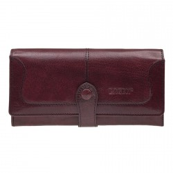 Dámská kožená luxusní peněženka Lagen 9771 red