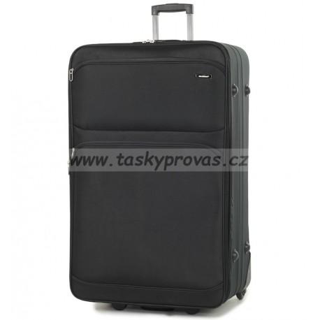 Cestovní kufr MEMBER'S TR-0135/4-80 - černá