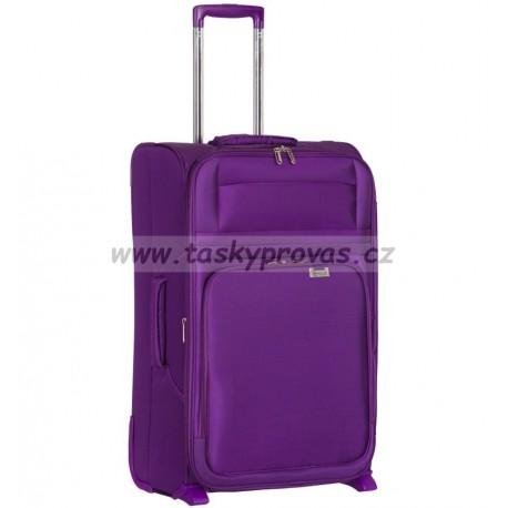 Kabinové zavazadlo AEROLITE T-9515/3-S - fialová