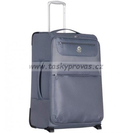 Cestovní kufr ECO-LITE T-1161/3-M - šedá