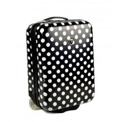 Kabinové zavazadlo Madisson 55018/50 černá/bílá
