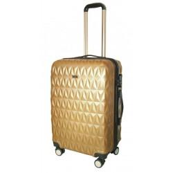Cestovní kufr T-Class TPL-3018/60-M zlatá