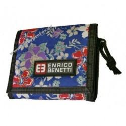 Peněženka textilní ENRICO BENETTI 54403 blue