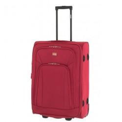 Cestovní kufr Dielle M 420-60-02 červený